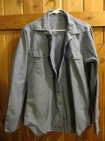 Photo Med 34 SL Military US Navy Work Shirt - $15 (Hungry Horse)