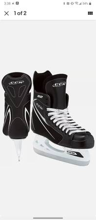 Photo NEW in box CCM SK52 Ice Hockey Skates - $40 (Kalispell Mt)