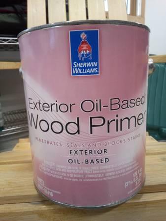 Photo New Gallon of Sherwin Williams Oil Primer - $20 (Kalispell)