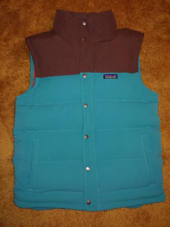 Photo Patagonia bivy down vest M39s Medium - $150 (Whitefish)