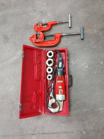Photo Pipe Threader and Pipe Cutters - $500 (Whitefish)