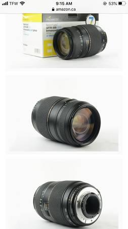 Photo Pro master LD macro lens - $80 (Columbia falls)