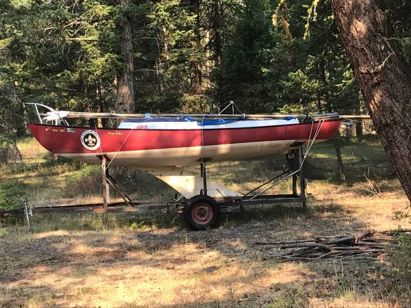 Photo Small Sailboat - $1,500 (Jette Lake)