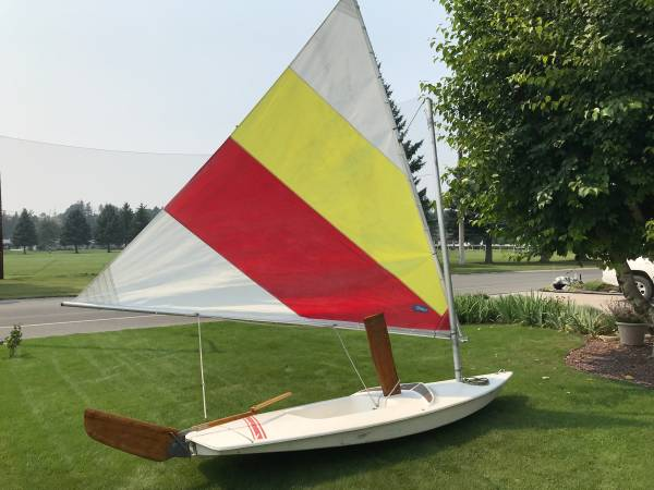 Photo Sunfish Sailboat - $1,200 (Kalispell)