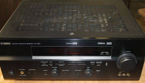 Photo Yamaha RX-V 337 Stereo 6 Channel Receiver w Remote - $125 (Polson)