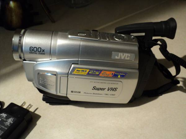 Photo jvc compact vhs camcorder - $25 (Pinehurst idaho)