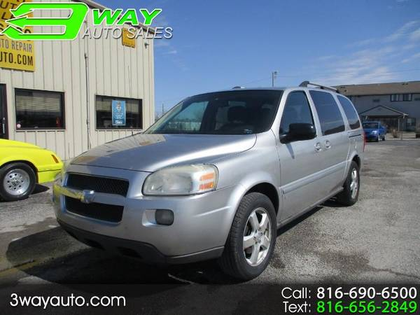 Photo 08 Chevy Uplander Loaded DVD as low as 800 down and 65 a week - $7,995 ((((((GUARENTEED FINANCE OR WE PAY YOU $500))))))