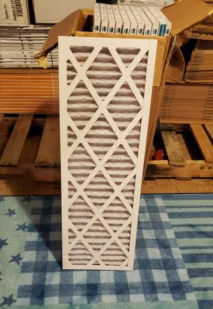 Photo 12 Air Filters 31x10.5x1 MERV 8. Koch brand - $30 (RAYTOWN)