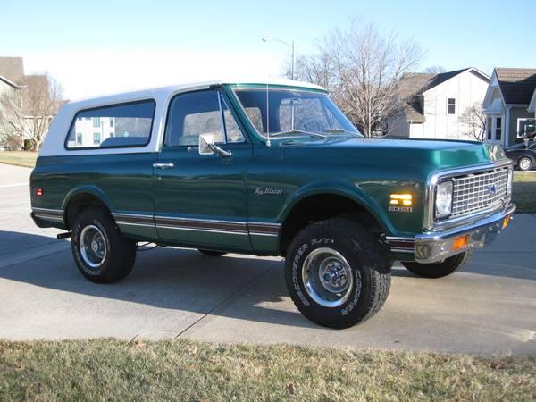Photo 1972 Chevrolet K5 Blazer Immaculate condition - $31000 (Leawood, KS)