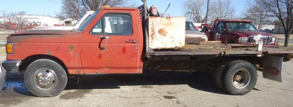 Photo 1990 Ford F350 dually 7.5 460 5 speed - $50 (Lawrence, KS)