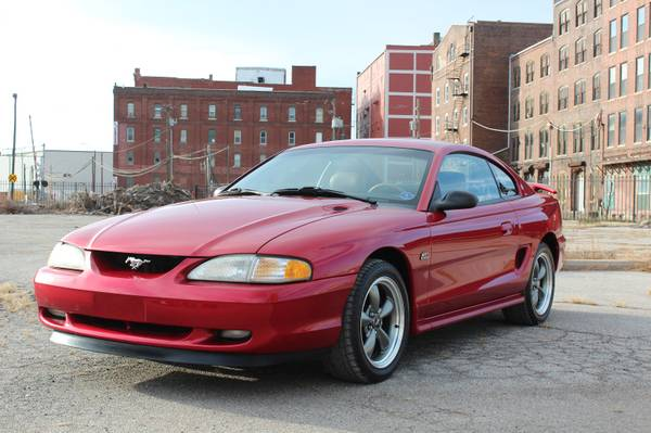 Photo 1995 Ford Mustang GT w49k miles, procharger supercharger CLEAN - $10500 (Kansas City, MO)