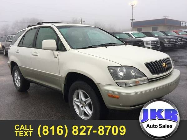 Photo 2000 Lexus RX 300 Sport Utility - $3877 (We Want Your Trade)