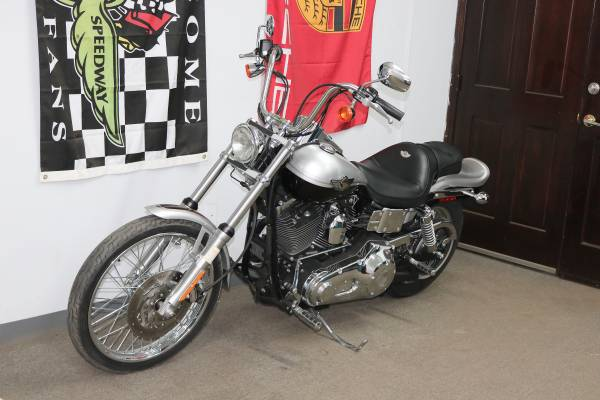 Photo 2003 Harley Davidson FXDWG Dyna Wide Glide 100th Annv 1 OWNER CLEAN - $9,500 (South Kansas City)