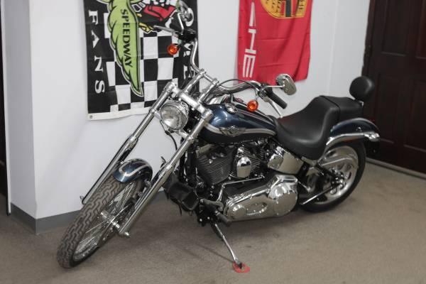 Photo 2003 Harley Davidson FXSTDI Deuce 100th Annv 1 OWNER CLEAN (Kansas City)
