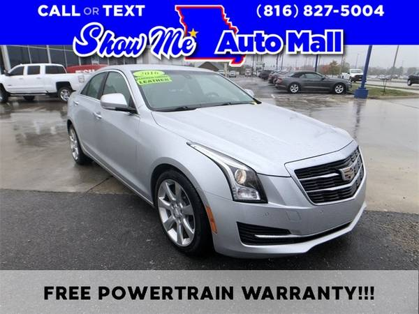 Photo 2016 Cadillac ATS Sedan 2.0L Turbo Luxury - $16,739 (Harrisonville)