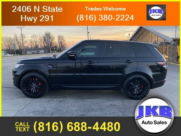 Photo 2016 Land Rover Range Rover Sport Supercharged Sport Utility 4D - $39,995 (We Want Your Trade)