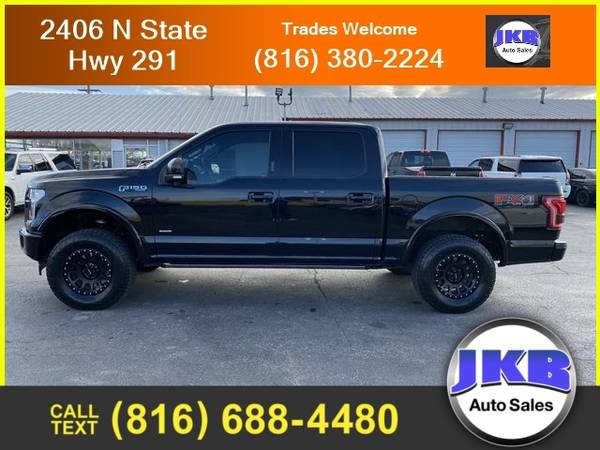 Photo 2017 Ford F-150 Lariat Pickup 4D 5 12 ft - $36,995 (We Want Your Trade)