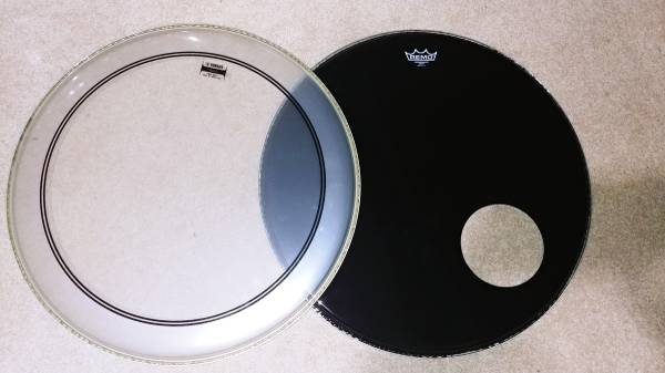 Photo 24quot Bass drum heads, NEW - $50 (Blue Springs)