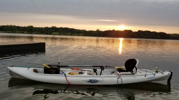 Photo 2 Hobie tandem mirage drive boats for sale - $3,200 (Lee39s Summit)