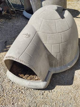 Photo 2 Indigo Petmate Dog House Igloo - $80 (Paola, Ks)