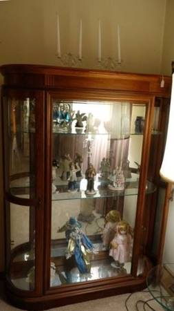 Photo Best Selection. Buy, Sell,  Trade Curved Glass Curio Cabinets (Independence)