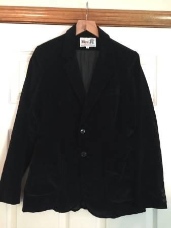 Photo Black velvet jacket by Merci Jrs. Size 11 - $20 (Lawson)