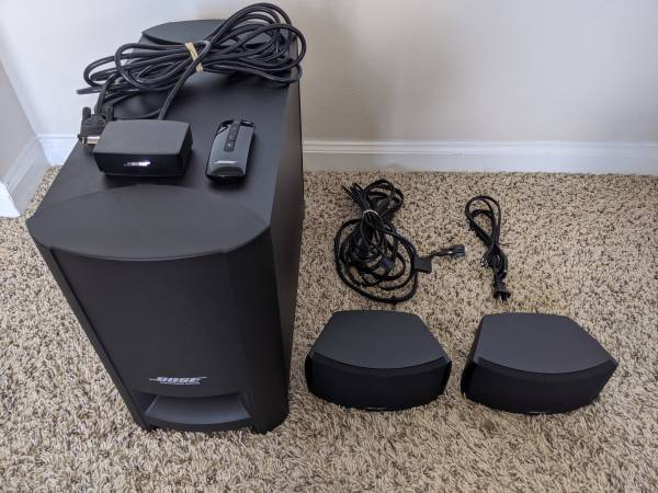 Photo Bose CineMate Series II Home Theater System - $200 (Overland Park)