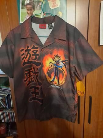 Photo Boys Yu-Gi-Oh Brown shirt size Large-$10.00 - $10 (Gladstone)
