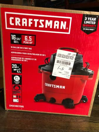 Photo Craftsman 16 gallon shop vac - $125 (Olathe)