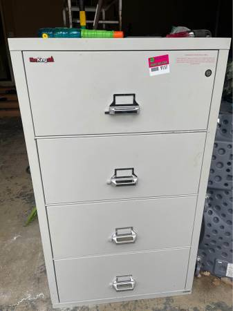 Photo Fire king file cabinet - $4,200 (Overland Park)