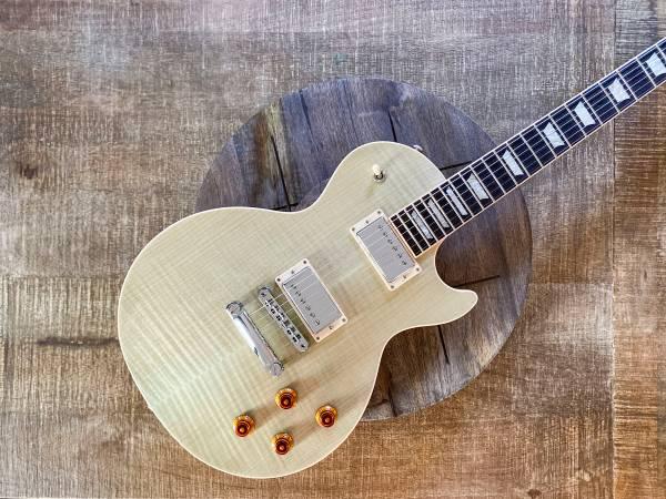 Photo Gibson Les Paul Standard 2019 Seafoam Green Flame Top - $2,000 (Overland Park)