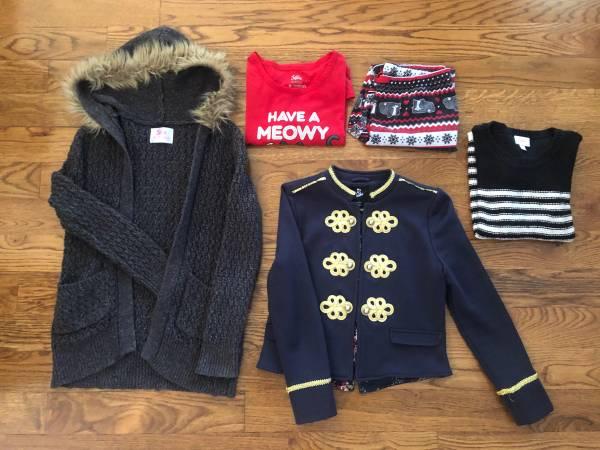 Photo Girls Justice Sweater, Sweater Jacket, Jacket and PJs - $25 (Kansas City North  Zona Rosa)