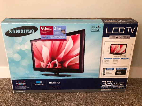 Photo HDTV- Samsung 32quot LCD 720p - $55 (Parkville, MO)