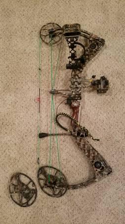 Photo Mathews Creed Compound Bow - $800 (Shawnee)