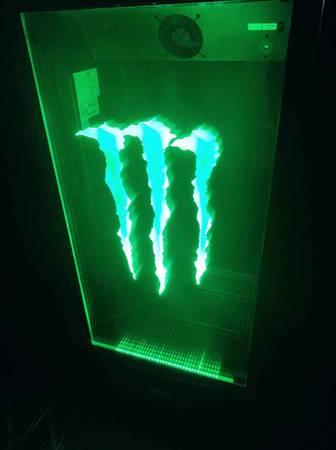 Photo Monster Energy Commercial Refrigerator Fridge Cooler - $575 (Paola, Ks)