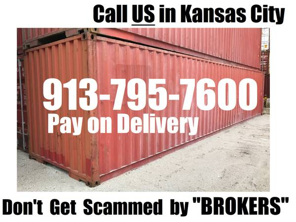 Photo New and Used Shipping Container and Storage Containers for Sale (COME SEE THESE in KC)