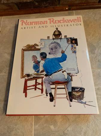 Photo Norman Rockwell Artist Illustrator 1st Ed. 3970 Thomas Buechner Book - $25 (Shawnee)
