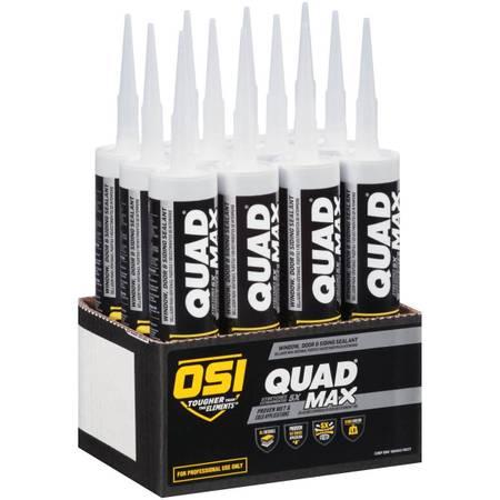 Photo OSI QUAD Max - 10 oz. (Carton of 18) Bronze colo - 9.5 fl oz Cartridge - $125 (135th and Metcalf)