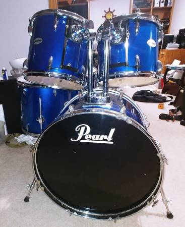 Photo Pulse 7pc double bass drum set shell pack - $200 (Blue Springs)