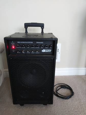 Photo Pyle Portable Wireless PA w Microphone - $50 (Overland Park)