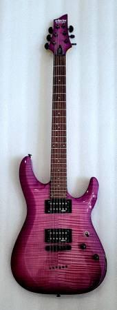 Photo SCHECTER C-6 ELITE, Purple Quilted, - $235 (Shawnee)