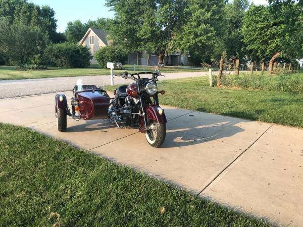 Photo Side Car Motorcycle - $14,000 (Southern Johnson County)