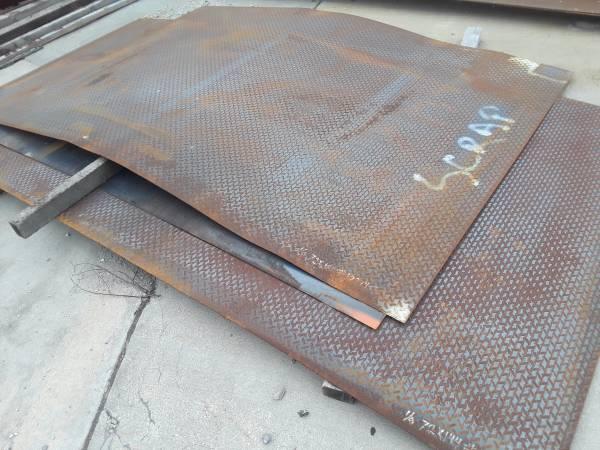 Photo Steel Diamond Checker Tread Floor Plate (Olathe)