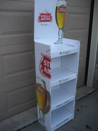 Photo Stella Artois Retail Display Shelf - $10 (Overland Park)