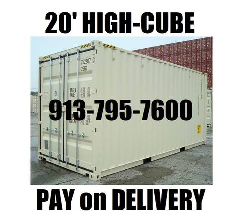 Photo Tall Boy 2039 Containers custom made conex container PODS storage shed (Come Check These Out in KC)