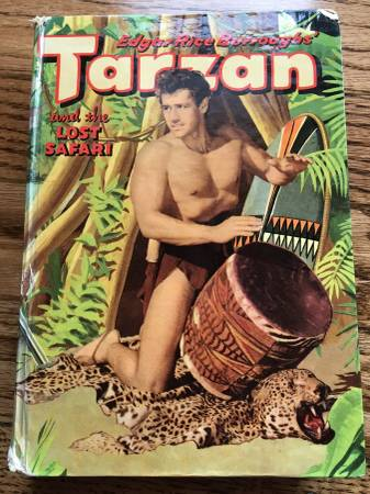 Photo Tarzan and the Lost Safari 1957 Hardcover by Edgar Rice Burroughs - $10 (Independence, MO)