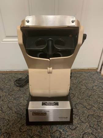Photo Titmus OV-7M Vision Screener Vision Tester - $180 (Olathe, KS)