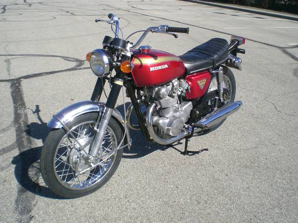 Photo VERY NICE USED VINTAGE 1970 HONDA CB 450 K2 - $3,500 (GARDNER, KS)