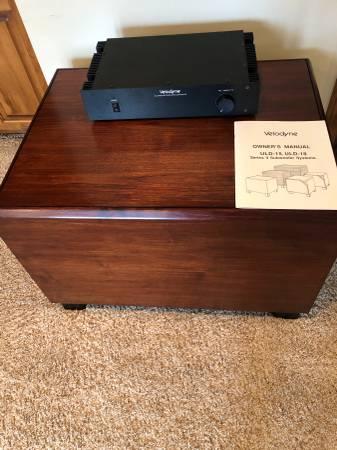 Photo Velodyne ULD-18 Subwoofer - $300 (Wichita, Kansas)
