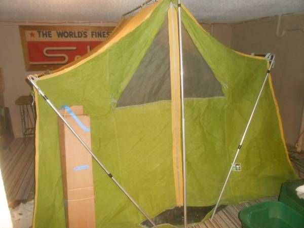 Photo Vintage Sears Canvas Tent - $300 (kc)
